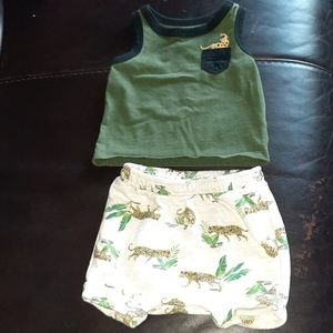 0-3months Safari Outfit